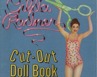 Gilda Radner Cut-Out Doll Book 1979