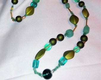 Spring is in the Air - Beaded Necklace