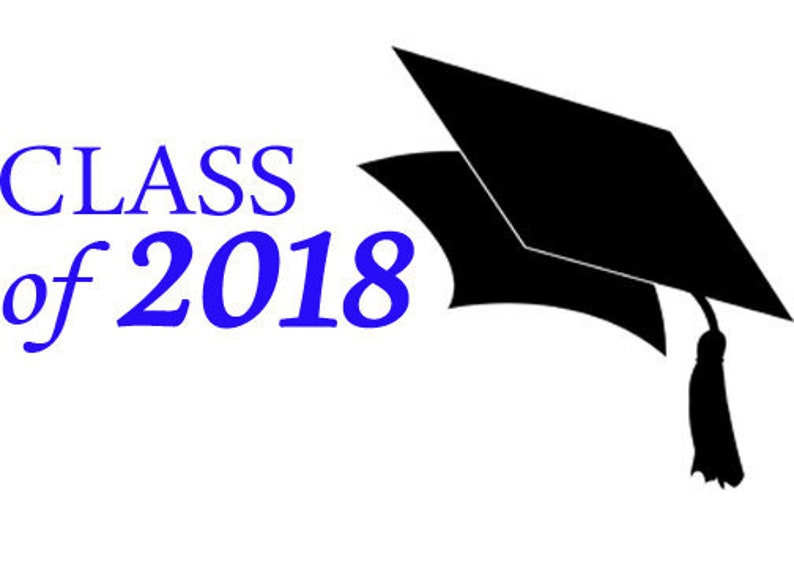 2018 Graduation -  png,  eps - Download (transparent background)