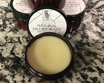 Natural Deodorant w/ Lemongrass Oil