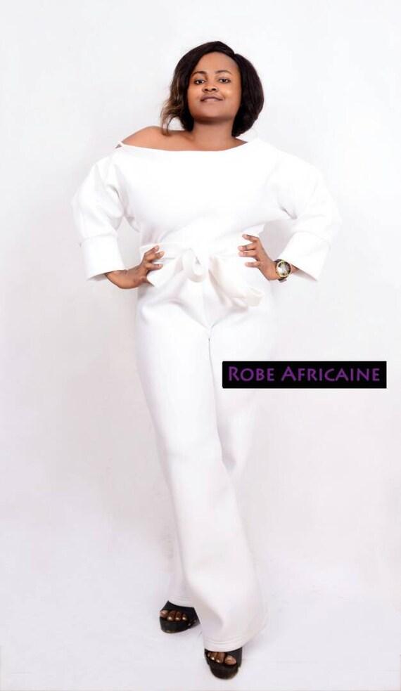 b9d32eb07 Jumpsuits/White/Cream/Wide Leg Jumpsuit/Wedding image 0 ...