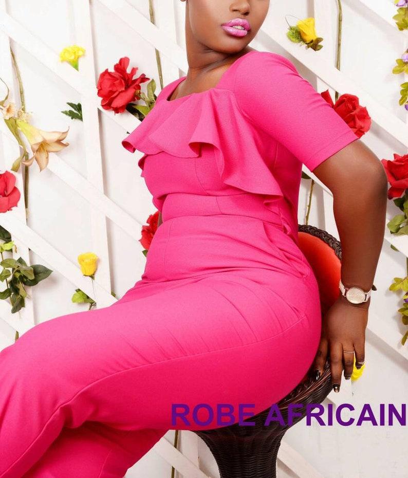159c2b26328a Jumpsuits Hot Pink Wide Leg Jumpsuit Wedding Jumpsuit Bridal