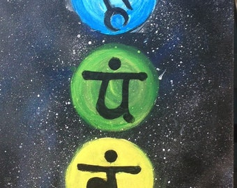 Chakras in Space