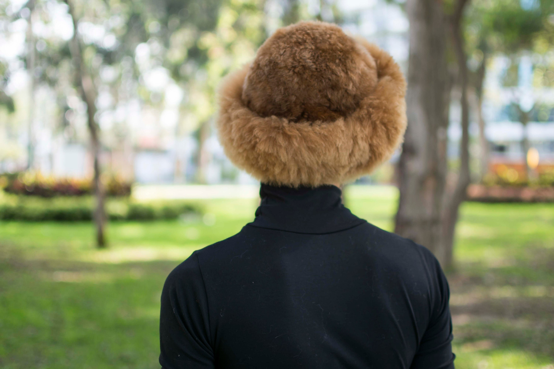 Russian Cossack Baby Alpaca Fur Hat Luxurious  Fur Hat Authentic Alpaca//PERU