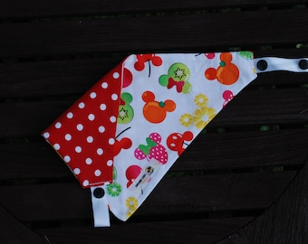 Summer at Disney Double Sided Cotton Bandana