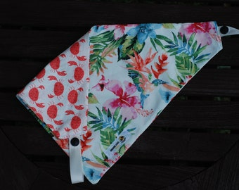 Caribbean Double Sided Cotton Bandana