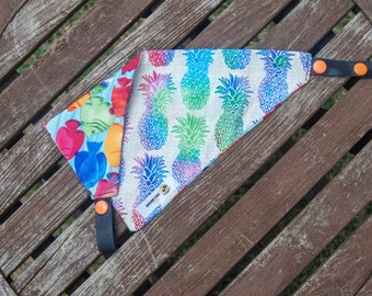Into the Tropics double sided cotton bandana