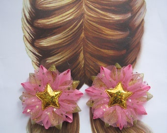 Bows with stars Set of 2