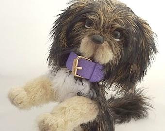 Fluffy dog, crocheted dog, gift for dog lovers, toy handmade dog, soft toy dog, knitted dog, stuffed dog, small dog, plush dog, cute dog toy