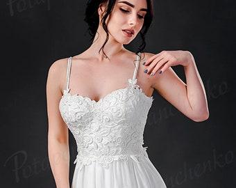 Fantasy Wedding Dress in Ivory sweetheart Wedding ballgown dress