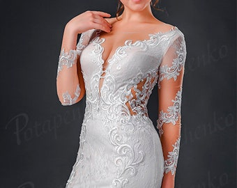 Wedding Dress *Marina*in Ivory sweetheart Wedding ballgown dress