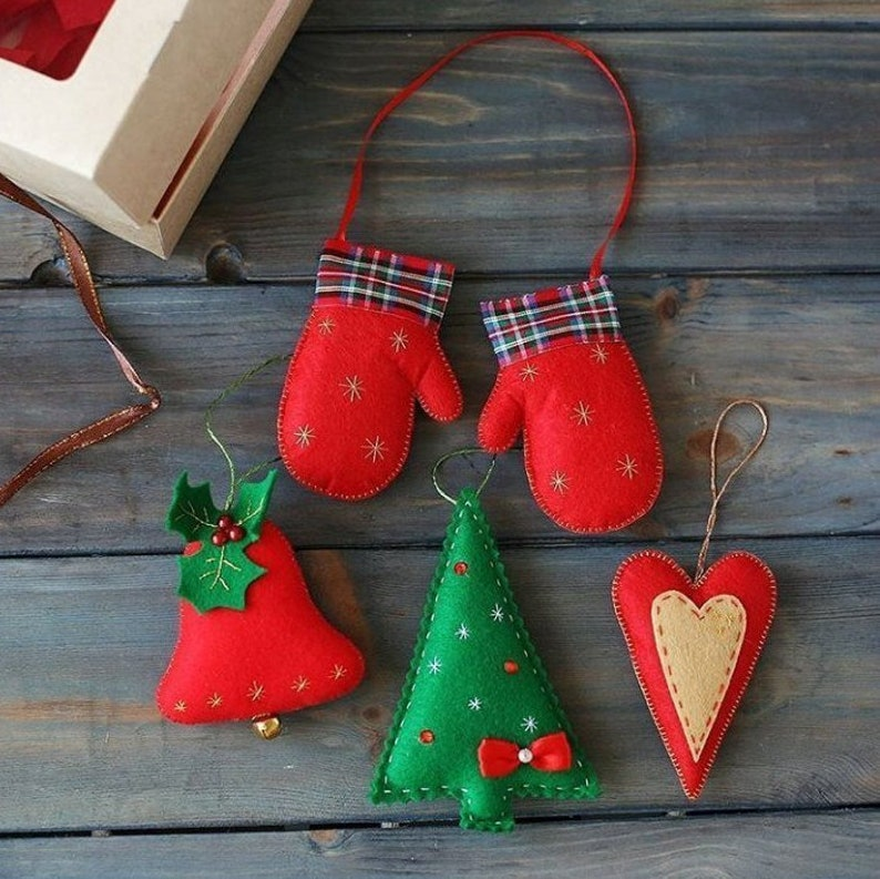 Christmas ornaments red christmas tree decorations green Decor  set cute Christmas favors Christmas tree ornaments Gift for Christmas gift