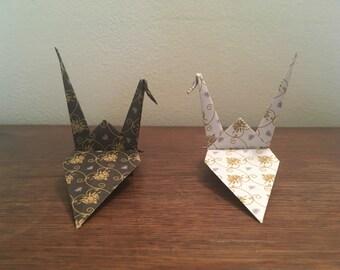 Four Origami Cranes