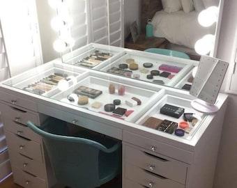 Bedroom vanity table | Etsy