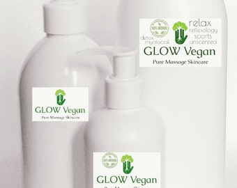 Sports LOTION for Massage with Organic Shea Butter . NO preservatives .