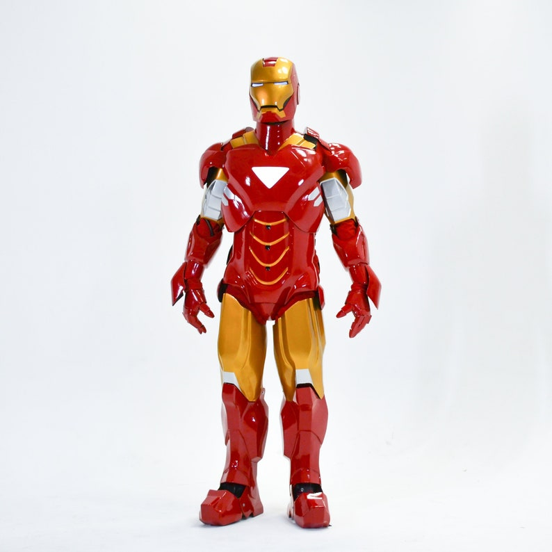 Iron Man Cosplay Suit Ironman Costume Armor Mark 6 From Etsy