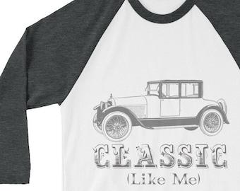 Classic (car) Like Me - 3/4 sleeve raglan shirt