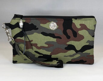 12 Nylon CAMOUFLAGE WALLETS army camouflaged wallet TRIFOLD mens boys