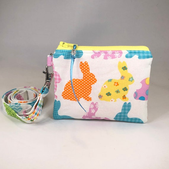 Optional Lanyard Neck Wallet Pouch Santa Christmas Coin Purse Change Purse Mini Wallet Great Gift For Her!