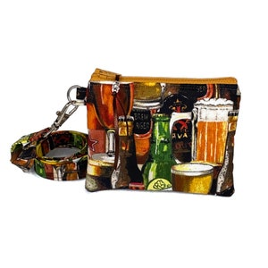 Optional Lanyard Pouch IPA Mini Wallet Drinking Change Purse Beer Coin Purse Great Gift! Neck Wallet Beer Lover