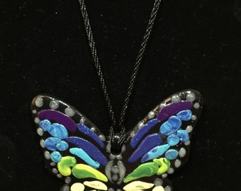 Unique Colorful Butterfly Handmade
