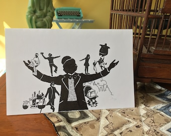 Willy Wonka Card
