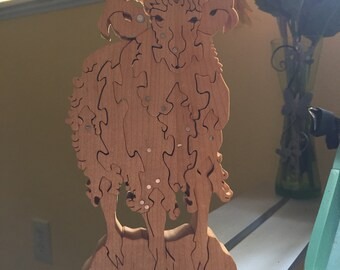 Aries wooden puzzle