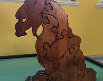 Gargoyle wooden puzzle