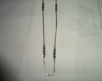 Vintage Italian Sterling Silver Chain