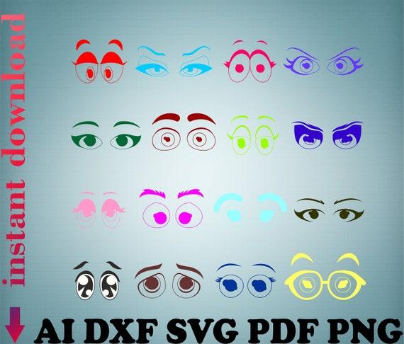 Free Download Electronic Format Eyes Png Eyes Cricut Files Etsy