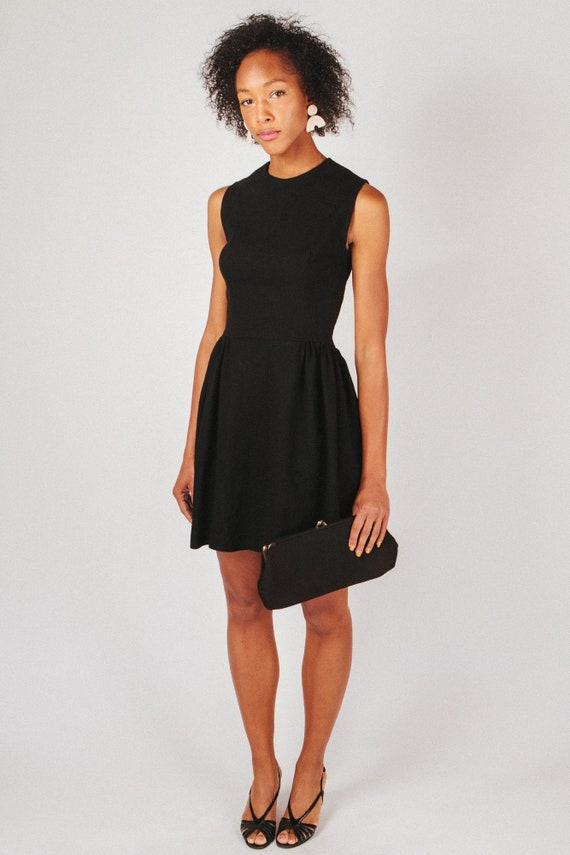 Vintage Classic Black Dress XS