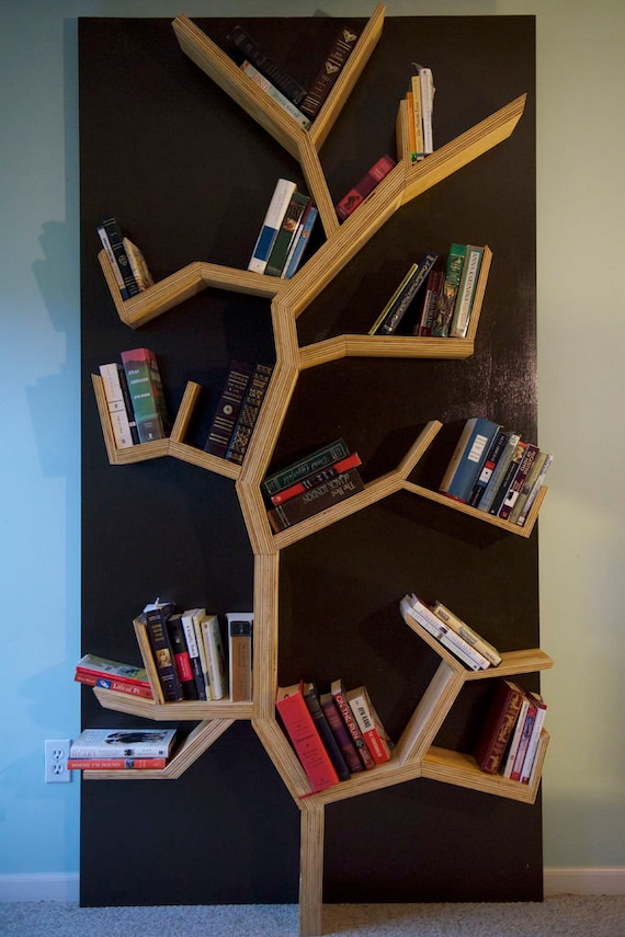 Custom Tree Bookshelf