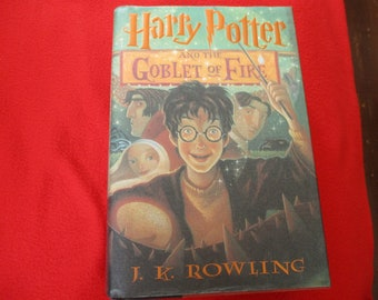 First Edition of Harry Potter and the Goblet of Fire