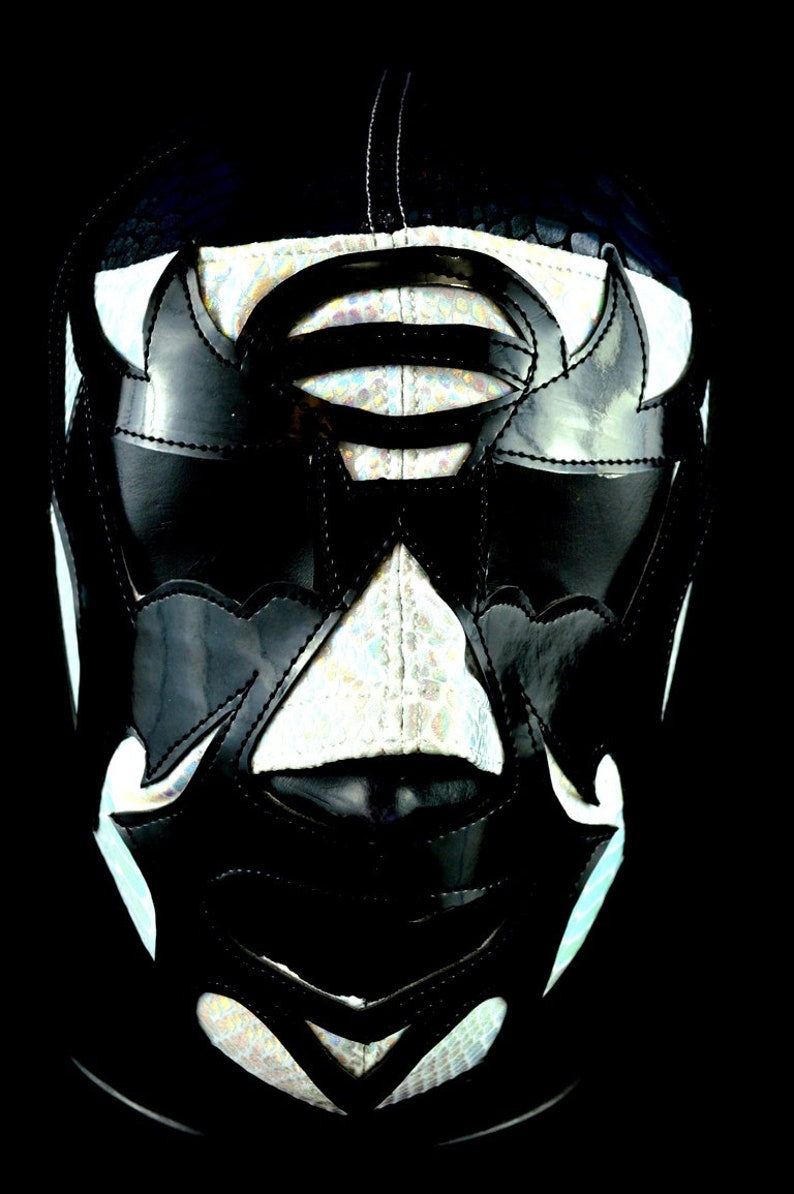 MRMASKMAN 100 Caras 7 Lycra Mexican Wrestling Mask Lucha Libre Luchador Wrestler Custome