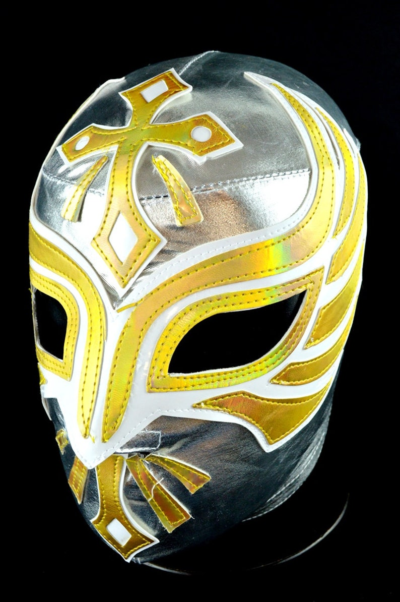 Caristico 1 Adult Lycra Spandex Mexican Wrestling Lucha Libre Mask Luchador Halloween Costume