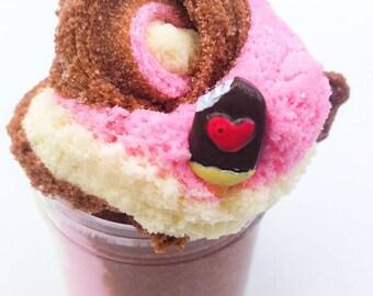 Neapolitan Ice Cream Cloud Slime ~Scented~