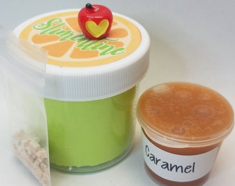 Caramel Apple Cloud Slime ~Scented~