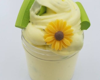 Summer Sunflower Butter Slime ~Scented~