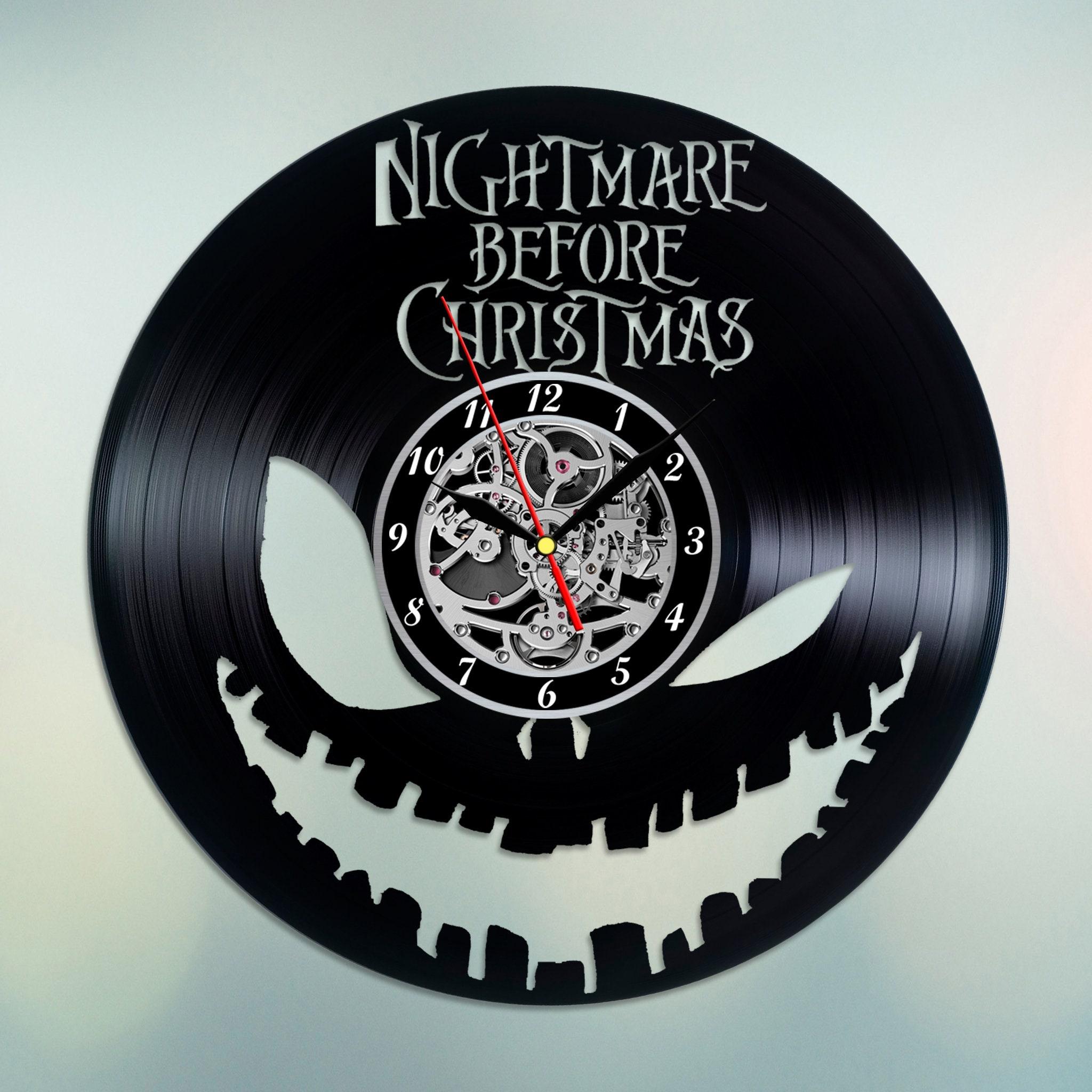 Wall Clock Nightmare Before Christmas Clock Jack Skellington | Etsy