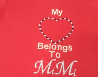 Children's Embroidery and Monogram Shirts