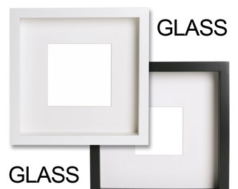 20 x Front Glass Panels 23cm x 23cm Ikea Ribba Picture Photo Frames (2mm thick) Best Quality
