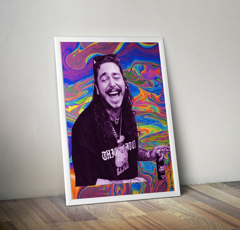 Post Malone Poster A4 A3 You/'re the Sunflower Lyrics INSPIRED WALL ART Print