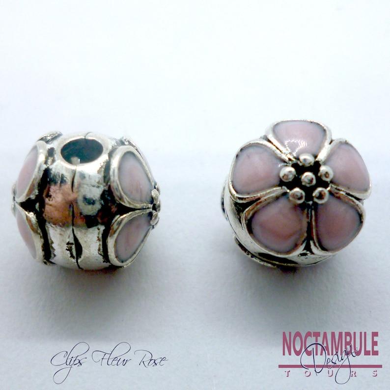 perle pandora rose pale
