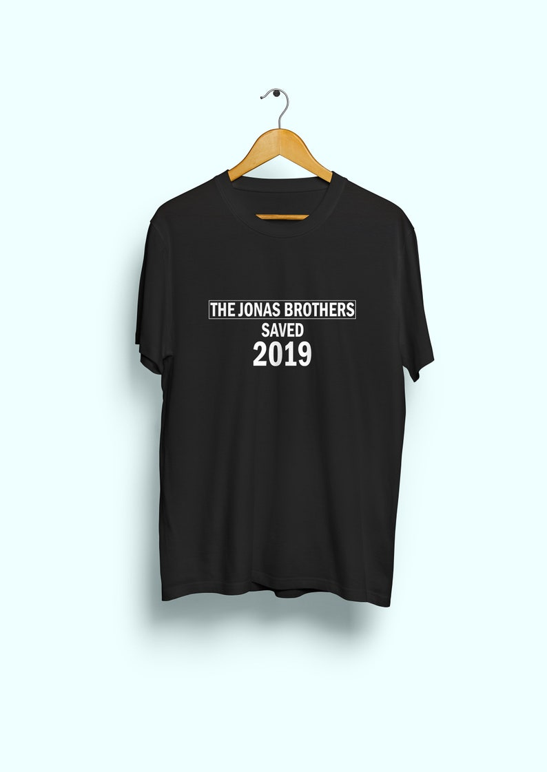28f9a2c96 Jonas Brothers shirt unisex Nick Jonas Joe Jonas Kevin | Etsy