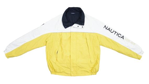 Nautica - Yellow, White and Blue Reversible Jacket