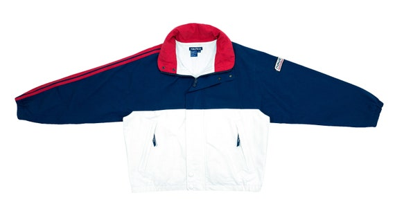 Nautica - Blue and White 'Performance' Jacket 1990