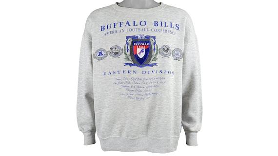 NFL (Nutmeg) - Buffalo 'Bills' Crew Neck Sweatshir