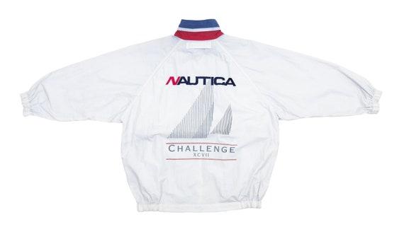Nautica - White 'Sailing Challenge' Bomber Jacket
