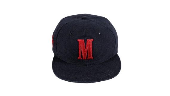 Marlboro - Black with Red Snapback Hat Adjustable