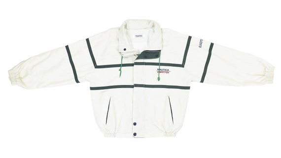 Nautica - White 'Competition' Sailing Jacket 1990'